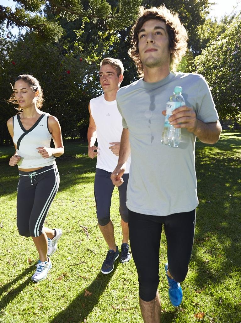 Laufen in der Gruppe