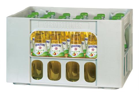 Gerolsteiner Apfelschorle Gourmet 0.25 l Glas im 24er Kasten