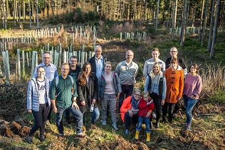 Zukunftswald Besichtigung 2019