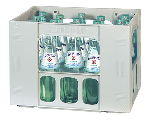 Gerolsteiner Medium Gourmet 0,5-Liter-Flasche im Kasten