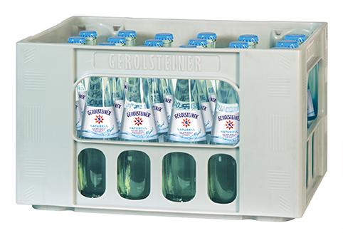 Gerolsteiner Naturell Gourmet 0,25-Liter-Flasche im Kasten