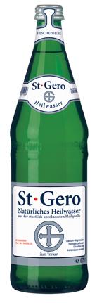 Gerolsteiner St. Gero Glas Mehrweg 075-Liter-Flasche