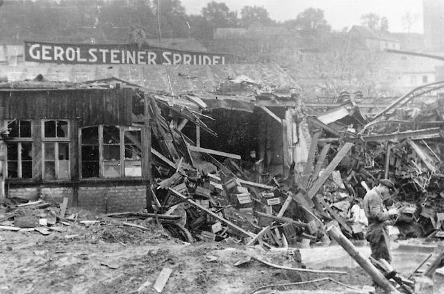 KriegsschädenLuftangriff im 2. Weltkrieg