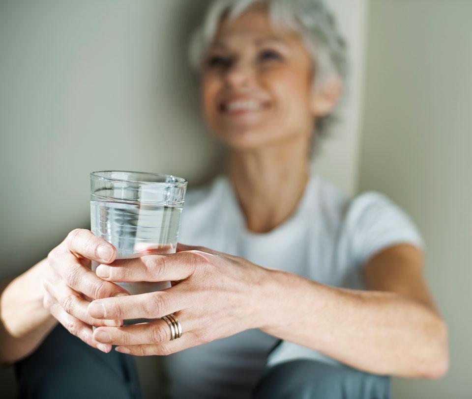 Calcium unterstützt auch bei der Behandlung von Osteoporose