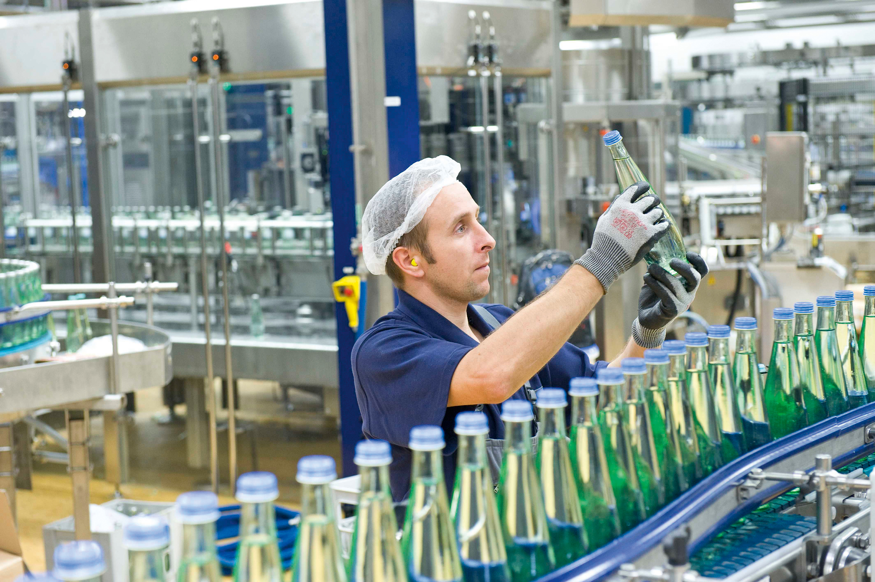 Bottling And Production Gerolsteiner Mineral Water