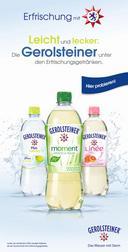 Erfrischung mit Stern: Personalpromotion für die Gerolsteiner Erfrischungsgetränke