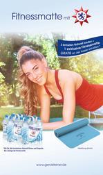 Zugabeaktion: Fitnessmatte beim Kauf von Gerolsteiner Naturell
