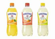 Neu: Gerolsteiner Grapefruit-Limonade