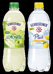 Neu ab März: Gerolsteiner Apfellimonade und Gerolsteiner Plus Zitrone
