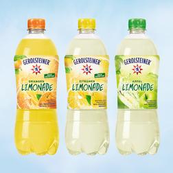 Ab April: Gerolsteiner Limonaden mit weniger Zucker