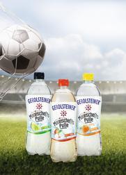 Die Gerolsteiner Mannschaftspulle: Die alkoholfreie Erfrischung für alle Fußballfans