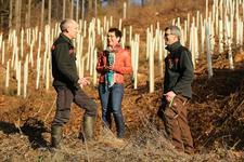 Engagement mit Zukunft: Der Gerolsteiner Zukunftswald wächst weiter